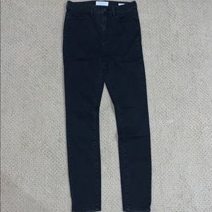 PacSun Black Super High Rise Jeggings